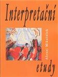 Interpretační etudy - obálka