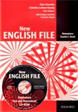 New English File Elementary Teacher´s Book + Test Resource CD-ROM - obálka