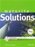 Maturita Solutions Elementary Student´s Book + CD-ROM Czech Edition (ELEMENTARY STUDENT´S BOOK + CD-ROM Czech Edition) - obálka