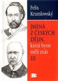 Jména z českých dějin lll. - obálka