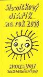 Sluníčkový diářík na rok 2010 - obálka