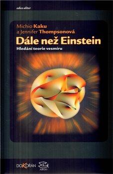 Obálka titulu Dále než Einstein