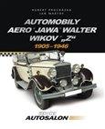 Automobily Aero, Jawa, Walter, Wikov, 'Z' (1905 - 1946) - obálka