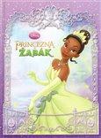 Princezna a žabák - obálka