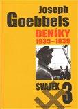 Joseph Goebbels: Deníky 1935-1939 (svazek 3) - obálka