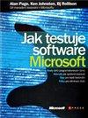 Obálka knihy Jak testuje software Microsoft