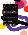 Sochy v ulicích /  Brno art open ´09 - obálka