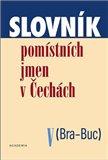 Slovník pomístních jmen v Čechách V. ((Bra-Buc)) - obálka