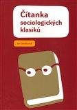 Čítanka sociologických klasiků - obálka