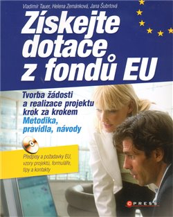 Oblka titulu Z&#237;skejte dotace z fond EU