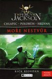 Moře nestvůr (Percy Jackson 2) - obálka