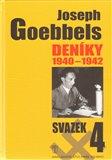 Joseph Goebbels: Deníky 1940-1942 (svazek 4) - obálka