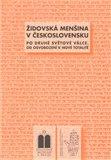 Židovská menšina v Československu po druhé světové válce - obálka