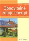Obálka knihy Obnovitelné zdroje energií