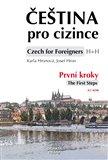 Čeština pro cizince/ Czech for Foreigners (První kroky/The First Steps + CD) - obálka
