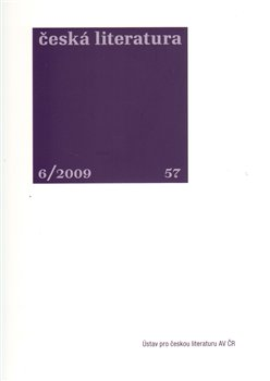 Česká literatura 6/2009
