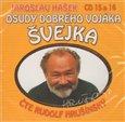 Osudy dobrého vojáka Švejka CD 15 & 16 (Audiokniha) - obálka