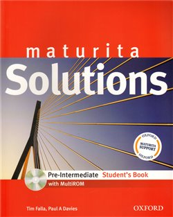 Maturita Solutions pre-intermediate Student´s Book + CD-ROM Czech Edition - T. Falla, P.A. Davies