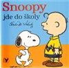 Obálka knihy Snoopy jde do školy