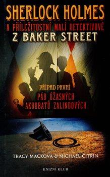 Obálka titulu Sherlock Holmes a příležitostní malí detektivové z Baker Street