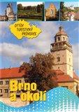 Brno a okolí Ottův turistický průvodce - obálka