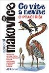 Obálka knihy Co víte a nevíte o ptačí říši