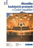 Akustika hudebních prostorů 2. v České republice - obálka