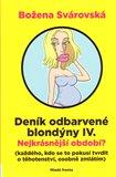 Deník odbarvené blondýny IV. - obálka
