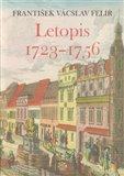 Letopis 1723–1756 - obálka