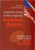 Anglicko-český česko-anglický hudební slovník - obálka