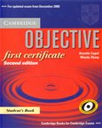 Objective FCE - 2nd edition - Student&#180;s Book - oblka