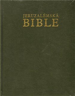 Oblka titulu Jeruzal&#233;msk&#225; Bible