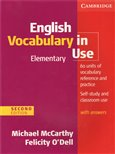 English Vocabulary in Use Elementary with answers - obálka