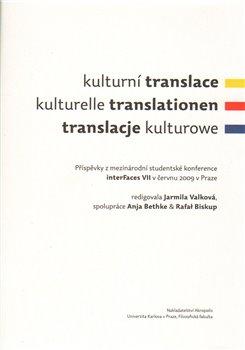 Obálka titulu Kulturní translace / Kulturelle Translationen / Translacje kulturowe
