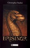 Brisingr (Odkaz Dračích jezdců 3) - obálka