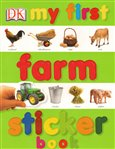 My First Farm Sticker Book - obálka