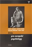 Etika pro evropské psychology - obálka