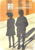 Dopis Alexandrovi - obálka