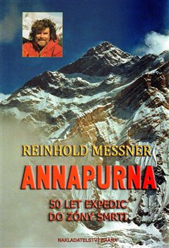 Oblka titulu Annapurna - 50 let expedic do z&#243;ny smrti
