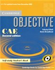 Objective CAE - 2nd edition - Student´s Book self study - obálka