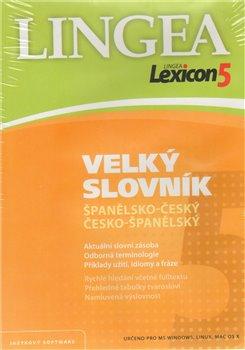 Velký slovník španělsko-český, česko-španělský. Lexikon 5 (1xCD-ROM)