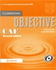 Objective CAE - 2nd edition - Workbook without answers - obálka