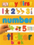 My First Number Sticker Book - obálka