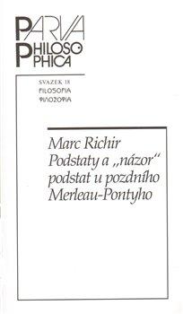 """Obálka titulu Podstaty a """"názor"""" podstat u pozdního Merleau-Pontyho"""