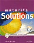 Maturita Solutions Intermediate Student´s Book + CD-ROM Czech Edition - obálka