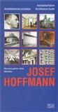 Josef Hoffmann - Architektonický průvodce - obálka