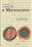 Poslední páni z Michalovic (JAN IV. († 1435/1436) a JINDŘICH II. († 1468)) - obálka