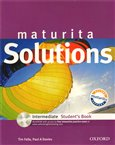 Maturita Solutions Intermediate Student´s Book + CD-ROM Czech Edition - obálka