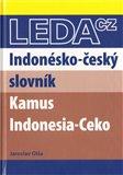 Indonésko-český slovník - obálka
