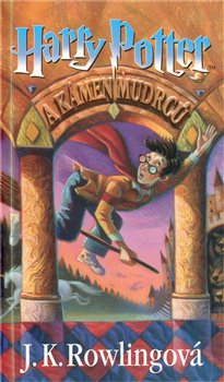 Obálka titulu Harry Potter a Kámen mudrců